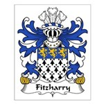 Fitzharry Family Crest Small Poster