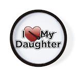 Love Daughter Wall Clock