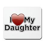 Love Daughter Mousepad