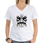 Fitzalan Family Crest Women's V-Neck T-Shirt