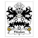 Fitzalan Family Crest Small Poster