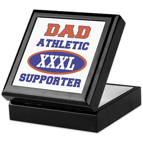 Dad Athletic Supporter Keepsake Box
