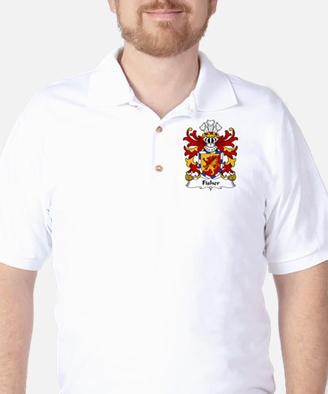 Fisher Family Crest Golf Shirt