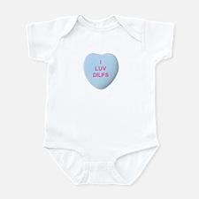 I Love DILFS Infant Bodysuit