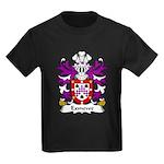Exmewe Family Crest Kids Dark T-Shirt