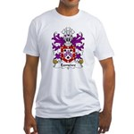 Exmewe Family Crest Fitted T-Shirt