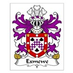 Exmewe Family Crest Small Poster