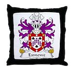 Exmewe Family Crest Throw Pillow