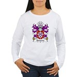 Exmewe Family Crest Women's Long Sleeve T-Shirt
