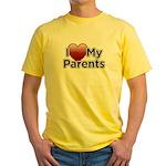 Love Parents Yellow T-Shirt