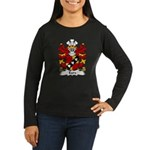 Eure Family Crest Women's Long Sleeve Dark T-Shirt