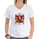 Eure Family Crest Women's V-Neck T-Shirt
