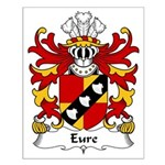 Eure Family Crest Small Poster