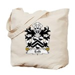 Enlli Family Crest Tote Bag