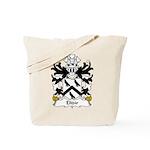Elidir Family Crest Tote Bag