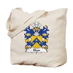 Elian Family Crest Tote Bag
