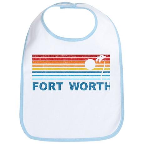 Palm Tree Fort Worth Bib