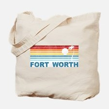 Palm Tree Fort Worth Tote Bag