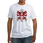 Dyer Family Crest Fitted T-Shirt