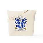 Dwnn Family Crest Tote Bag