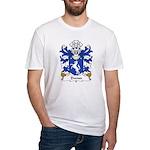 Dwnn Family Crest Fitted T-Shirt