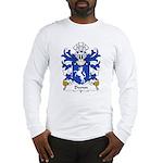 Dwnn Family Crest Long Sleeve T-Shirt