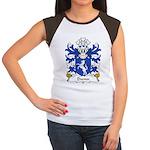 Dwnn Family Crest Women's Cap Sleeve T-Shirt
