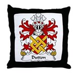 Dutton Family Crest Throw Pillow
