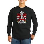 Dryhurst Family Crest Long Sleeve Dark T-Shirt