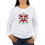 Dryhurst Family Crest Women's Long Sleeve T-Shirt