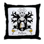 Dolben Family Crest Throw Pillow