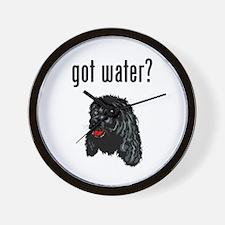 Water Spaniel Wall Clock