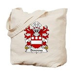 Devereux Family Crest Tote Bag