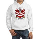 Devereux Family Crest Hooded Sweatshirt