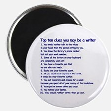 Writer Clues Magnet