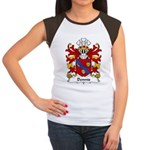Dennis Family Crest Women's Cap Sleeve T-Shirt