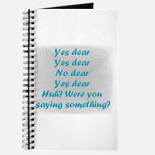 Yes Dear, No Dear Journal