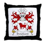 Deneband Family Crest Throw Pillow