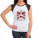 Deneband Family Crest Women's Cap Sleeve T-Shirt