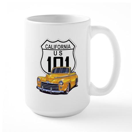 California Classic Car Large Mug