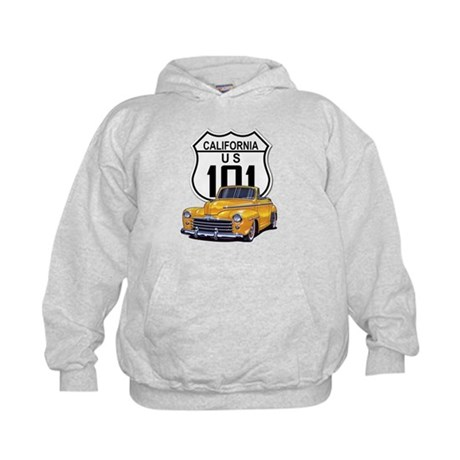 California Classic Car Kids Hoodie