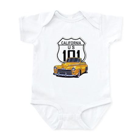California Classic Car Infant Bodysuit