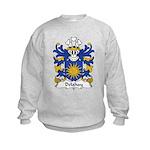 Delahay Family Crest Kids Sweatshirt
