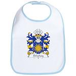 Delahay Family Crest Bib