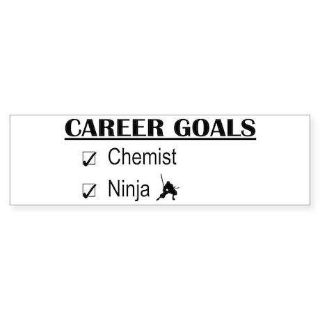 Chemist Career Goals Bumper Sticker