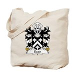 Dean Family Crest Tote Bag