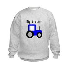 Big Brother Blue Tractor Sweatshirt