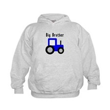 Big Brother Blue Tractor Hoody