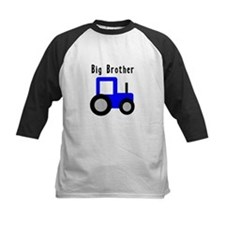 Big Brother Blue Tractor Tee