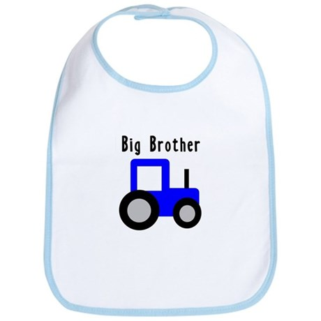 Big Brother Blue Tractor Bib
